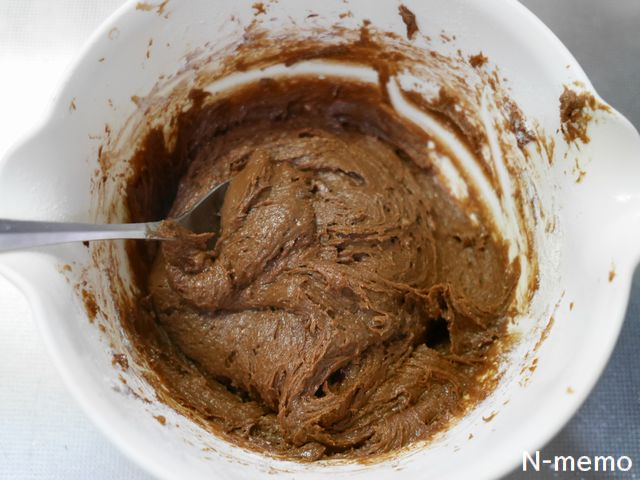 パンケーキミックスを入れて粉けがなくなくまで混ぜる