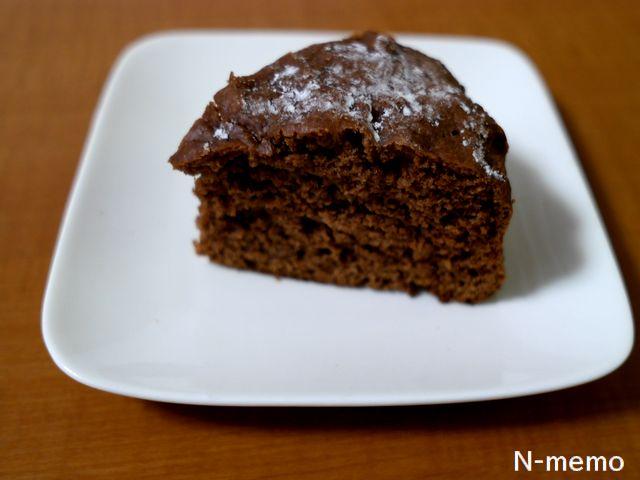 粉屋のパンケーキミックスで作ったチョコレートケーキのレシピ